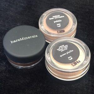 👁NIP bareMinerals Eyeshadow Trio Pebble Sex Kittn